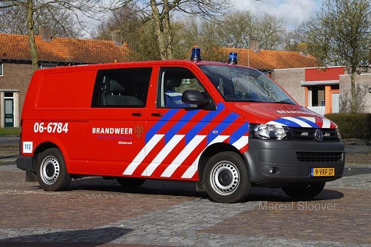 Brandweer Oldebroek VW 9-VRF-27