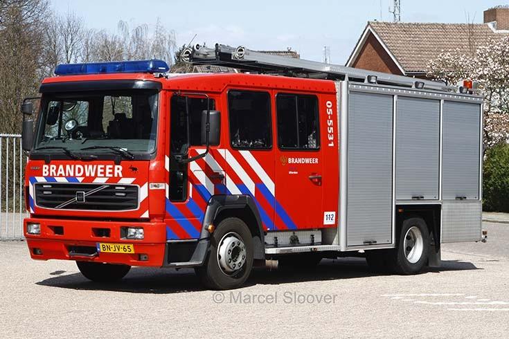 Brandweer Wierden Volvo BN-JV-65