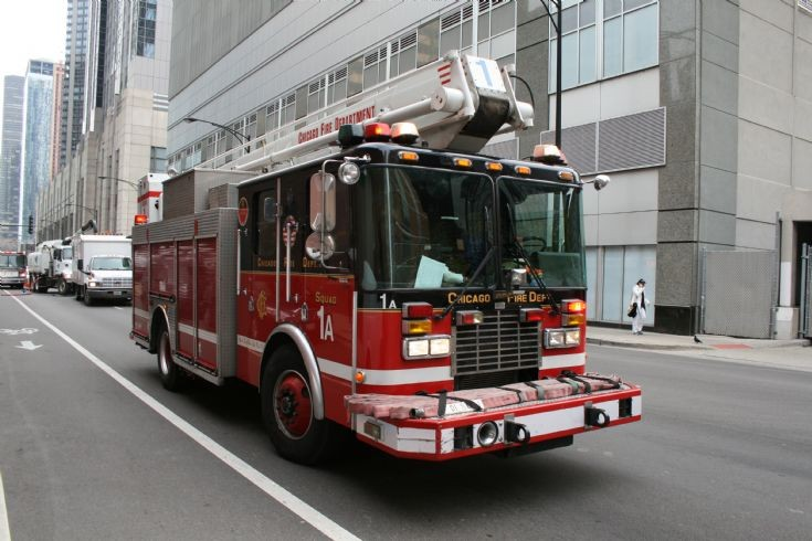Chicago fire department Squad 1A
