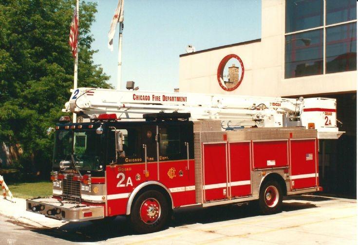 Chciago Fire Department Squad 2A