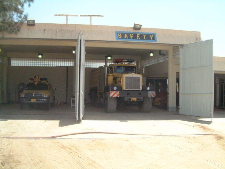 Libyan Oilfield Fire station
