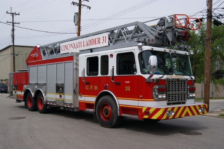 Cincinnati Ladder 31 Spartan Gladiator