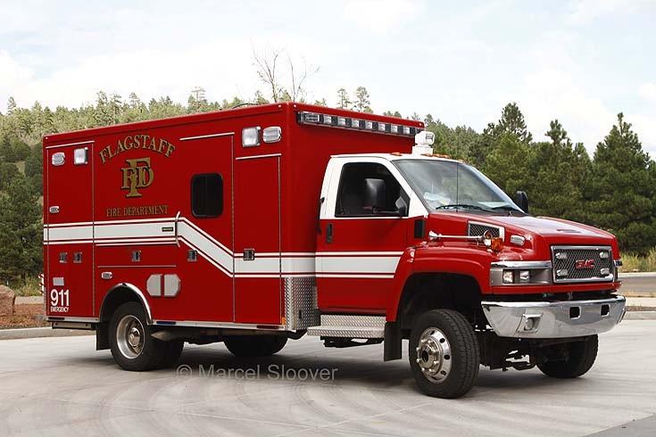 Flagstaff Fire station 2 GMC Medtec