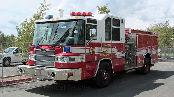 Flagstaff Fire dept Engine 1 Pierce