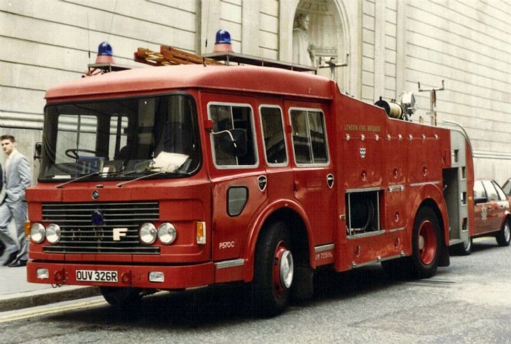 London ERF OUV326R
