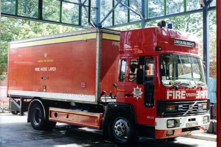 Beckenham HLL Volvo FL6.14 G922TYN