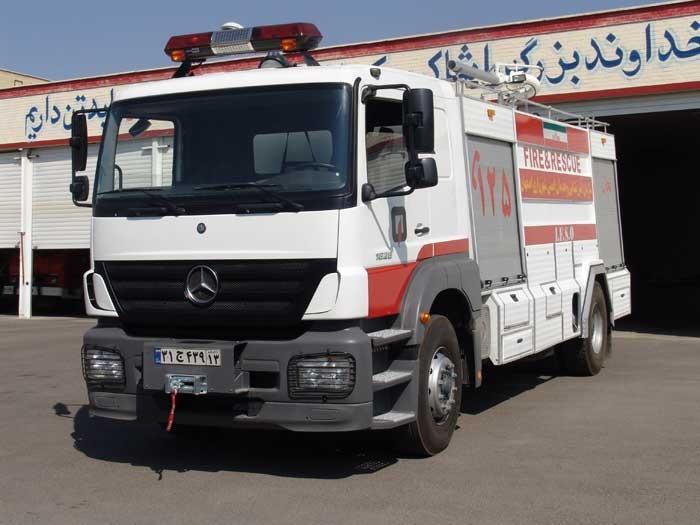 Mercedes-Benz Atego 1828 pumper in Esfahan(iran)