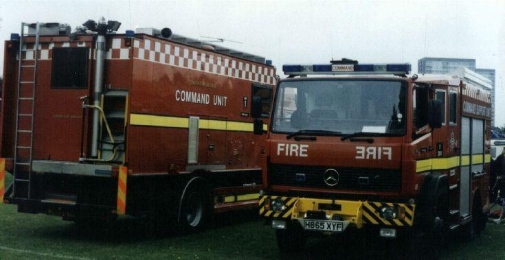 LFB Command units Mercedes H865XYF