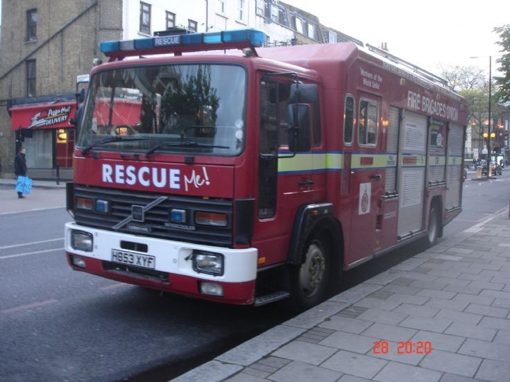 Ex London Fire Brigade Heavy Rescue Unit
