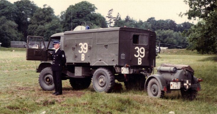 German Army Fire Truck 1984