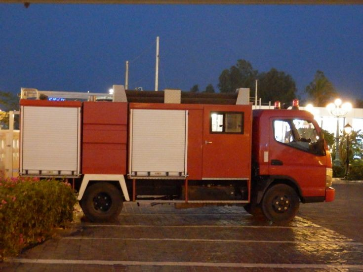 Fuso Rescue Light Pumper - Egypt