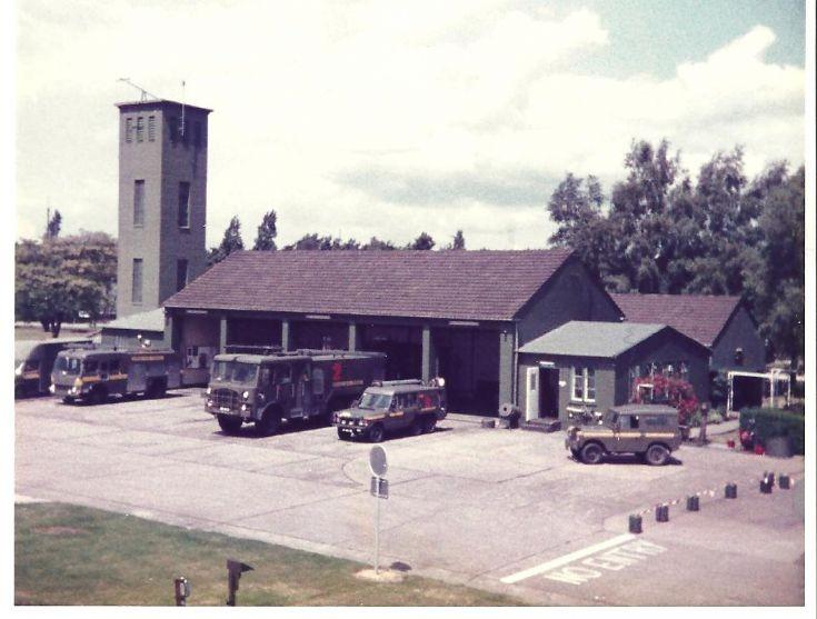 1980's RAF Bruggen Fire station