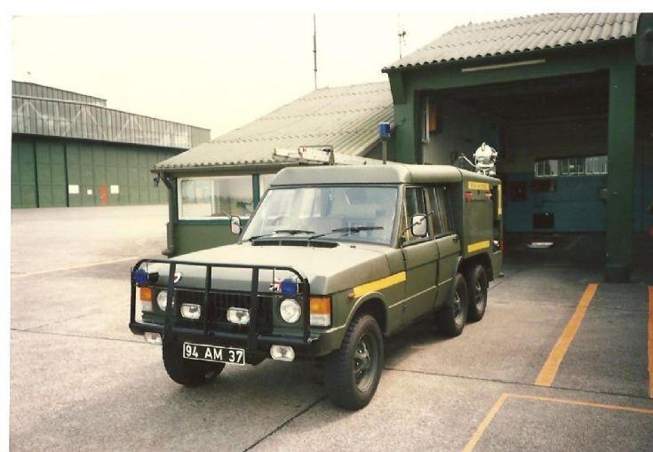 RAF fire service 1980's TACR2 94AM37