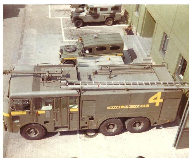 RAF fire service 1980's Gutersloh