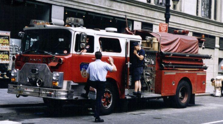 FDNY Engine 1 Mack Grand Central station
