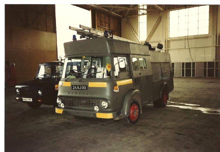 RAF fire service 1980's Bedford 24AJ00