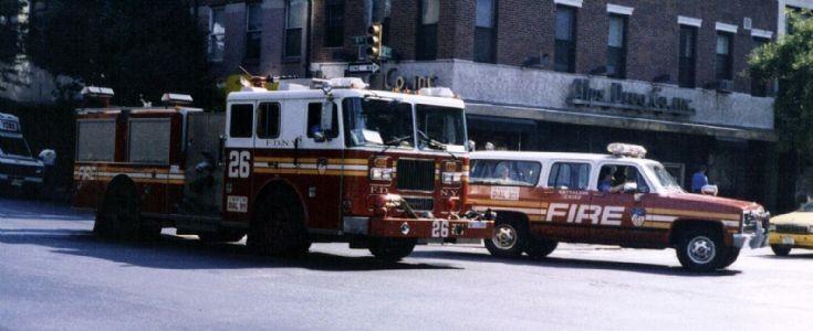 FDNY Engine 26 and Battalion 9 Manhattan