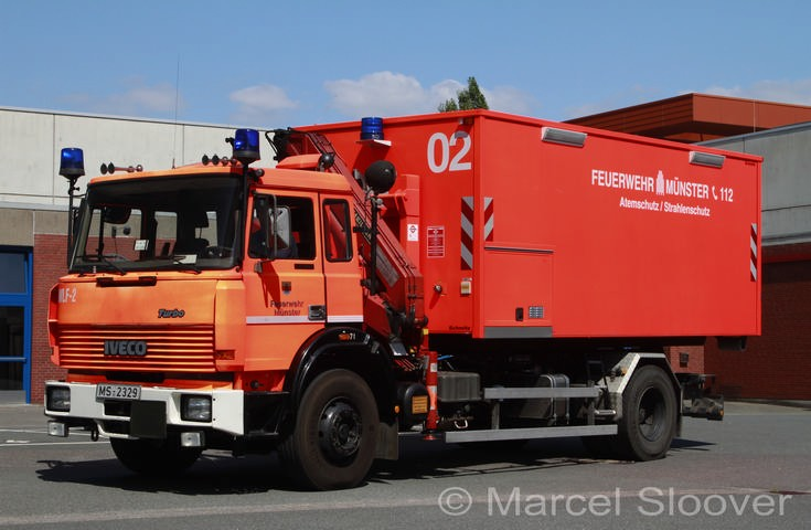 Feuerwehr Munster Iveco Prime mover