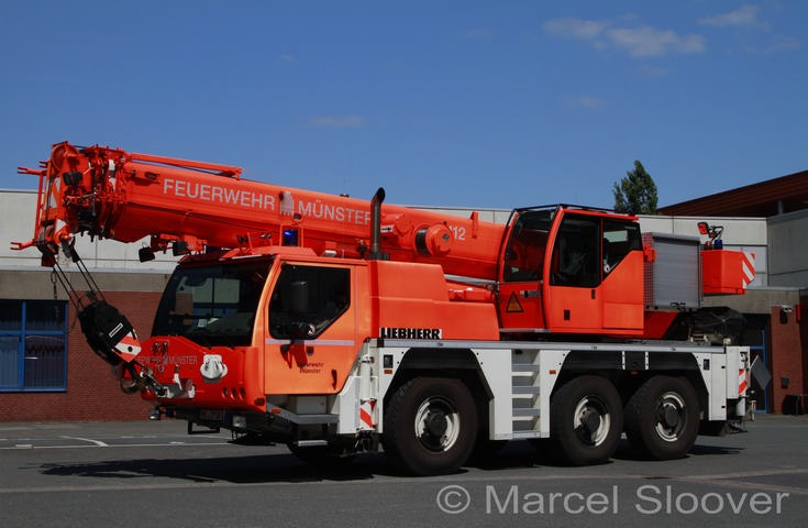 Liebherr Crane Feuerwehr Munster