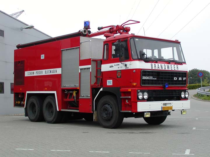 Regionale Brandweer Zuid-Limburg DAF Crashtender