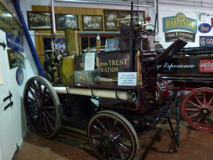 Steam powered brewery engine