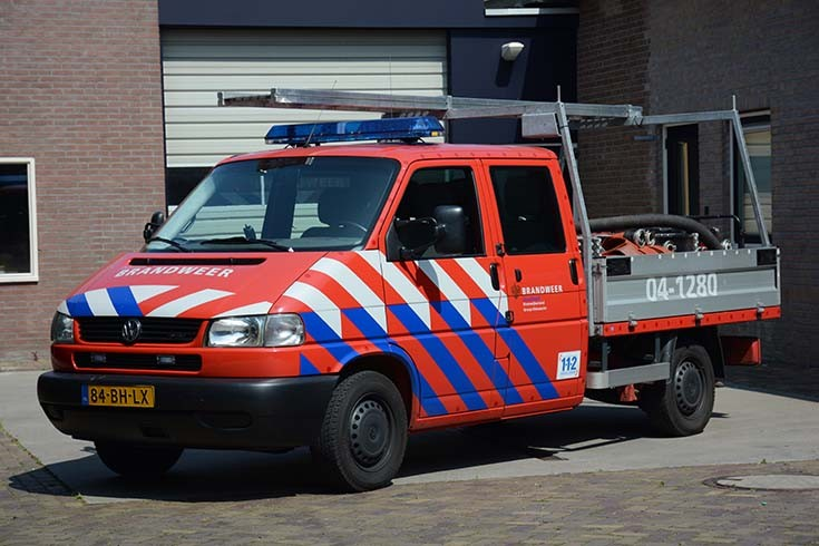Brandweer Oldemarkt Volkswagen Pick-up 84-BH-LX