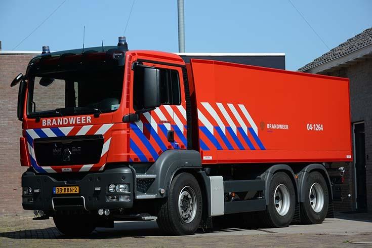 Brandweer Oldemarkt MAN Tanker 38-BBN-2