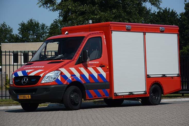 Brandweer Steenwijk Mercedes 77-BBL-8
