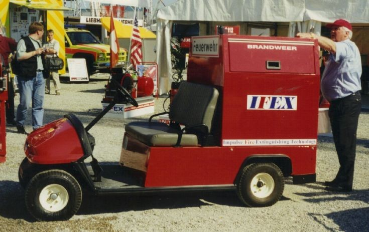 Golf Buggy Fire Engine
