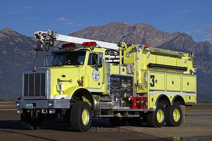 Peterbilt / Spartan Jackson Hole Airport Fire dept