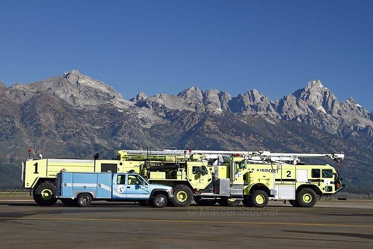 Jackson Hole Wyoming Airport equipment