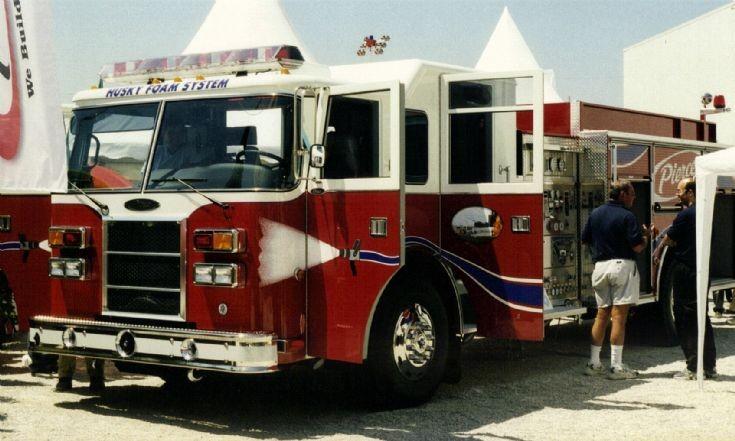 Pierce Foam Pumper Interschutz 2000