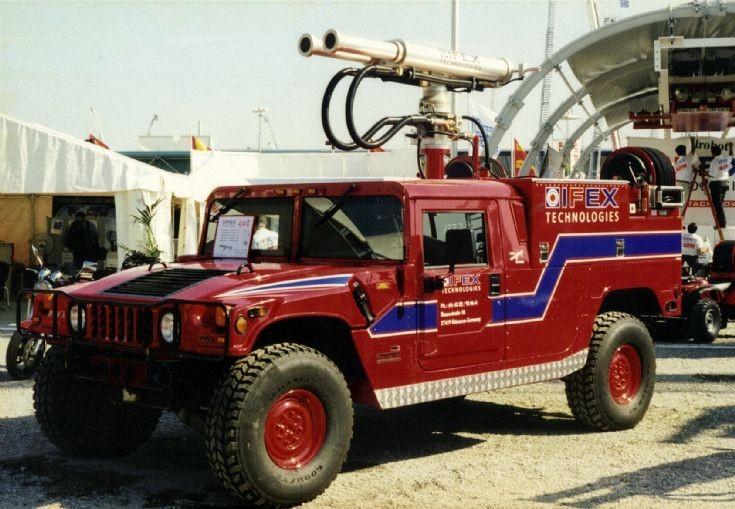 IFEX Hummer Interschutz 2000