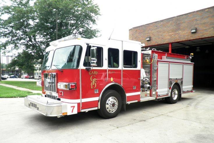 Gary, Indiana Sutphen Engine 7