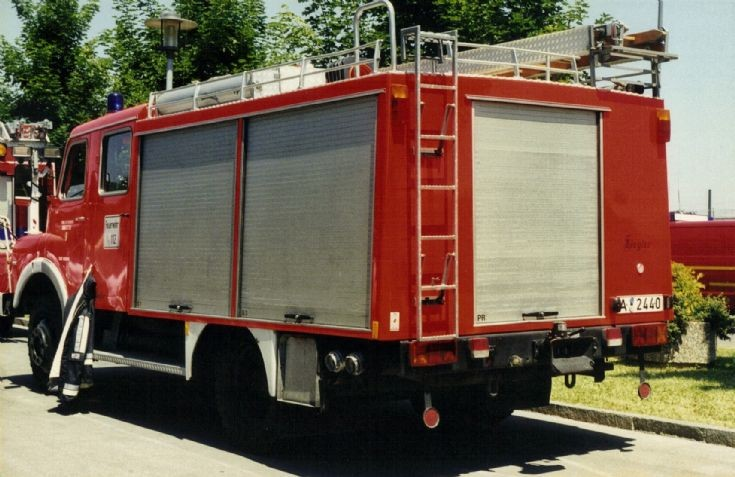 Augsburg MAN TLF rear