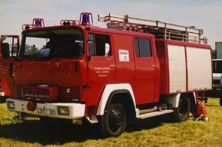 Magirus TLF8 (LG-ET 931) Feuerwehr Adendorf