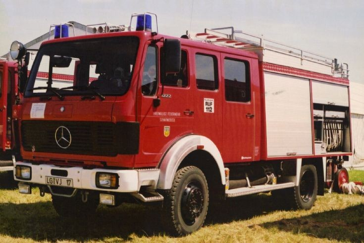 Mercedes LF16 (LG-VJ 17) Feuerwehr Scharnbeck