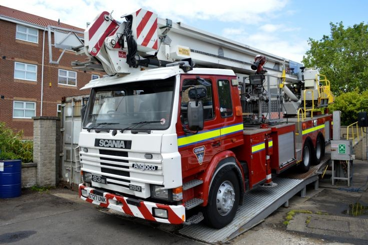 On loan to Cleveland Fire Brigade