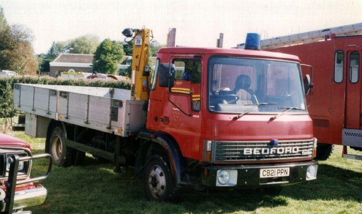 ESCFB Bedford GP Lorry C821PPN