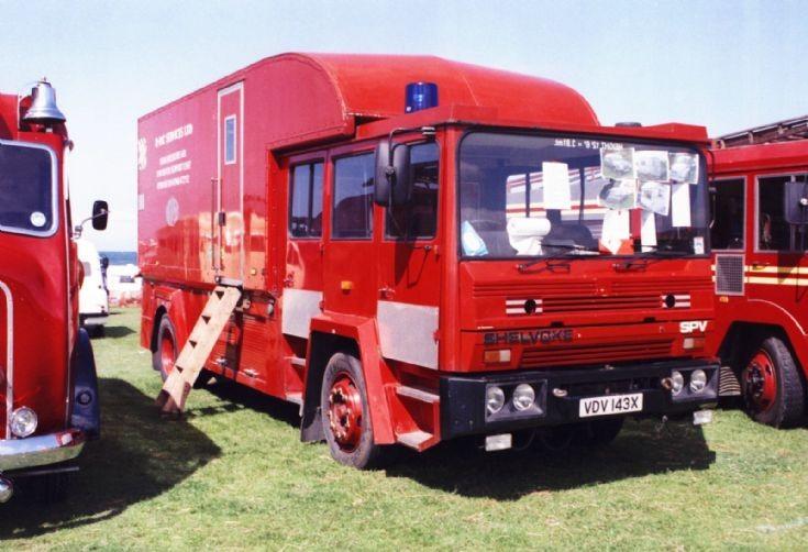 1982 Shelvoke Appliance VDV143X