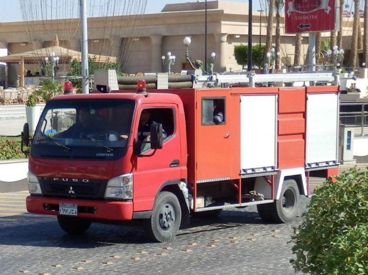 Fuso Rescue Light Pumper - Egypt