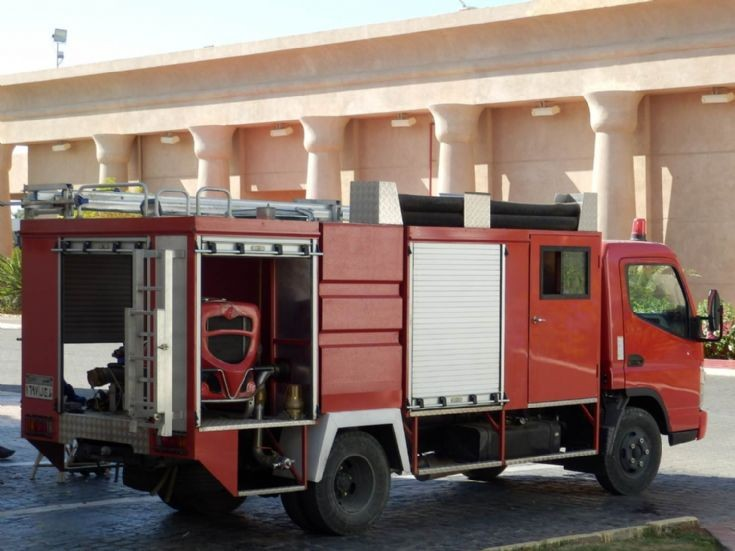 Fuso Rescue Light Pumper - Egypt August