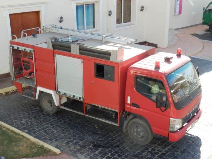 Fuso Rescue Light Pumper - Egypt top