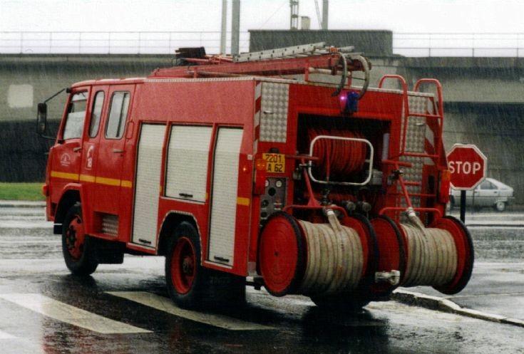Bologne Berliet WrT 2201LA62 rear