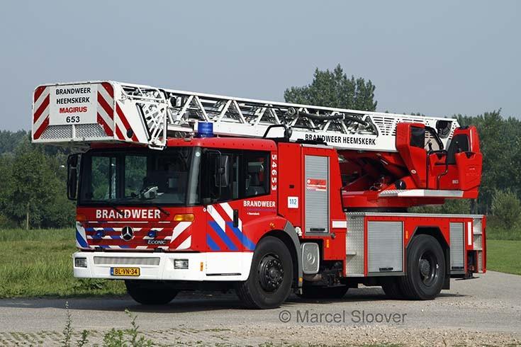 Brandweer Heemskerk Mercedes Econic Magirus