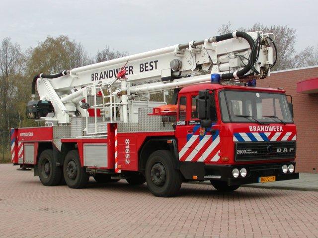 Brandweer Best DAF HW