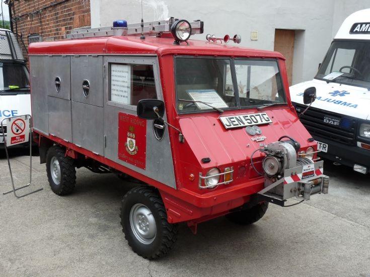 Haflinger Appliance ex North Riding Fire Service