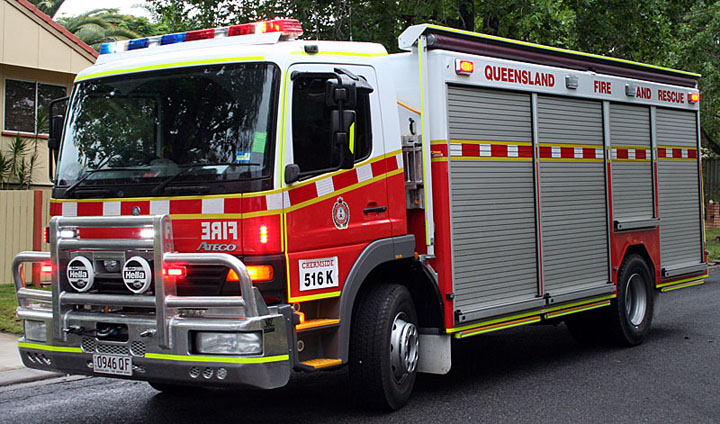 Fire engines photos chermside brisbane queensland for Mercedes benz emergency number