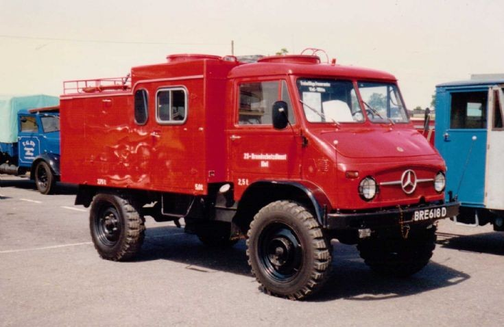 1966 Unimog U400 Fire Appliance