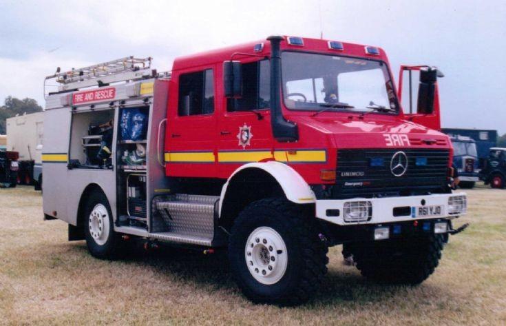 1997 Unimog U2000 Rescue Tender